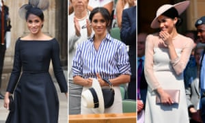 A selection of the Duchess of Sussex's post-wedding outfits