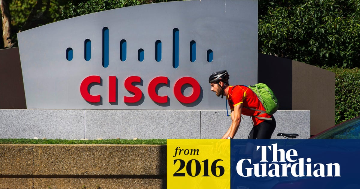Cisco Systems to cut 5,500 jobs after reporting 2% drop in revenue