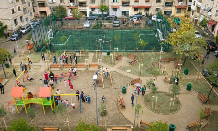 A playground in Tirana.