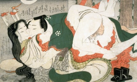 Evening Encounter attributed to Keisai Eisen.