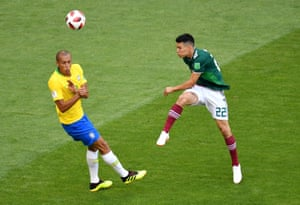 Hirving Lozano was a constant threat for Mexico.