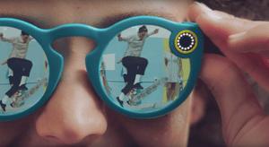 Snapchat glasses … California at the Design Museum.