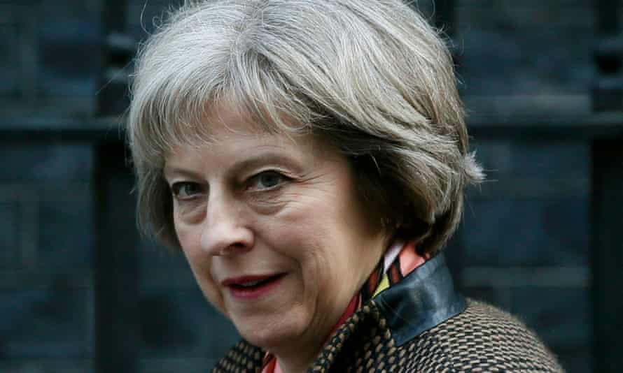 Home secretary, Theresa May