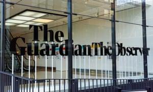 Guardian office in King's Cross, London