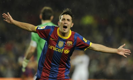 David Villa to retire: a look back at Spain's most prolific goalscorer – video report
