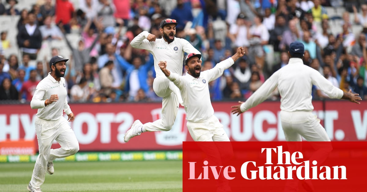 Australia V India Boxing Day Test Day Five As It
