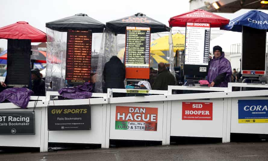 Bookmakers at Cheltenham in 2019