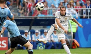 Artem Dzyuba says Russia need to 'play at 200-300% and only in that case will we have a chance' against Spain.