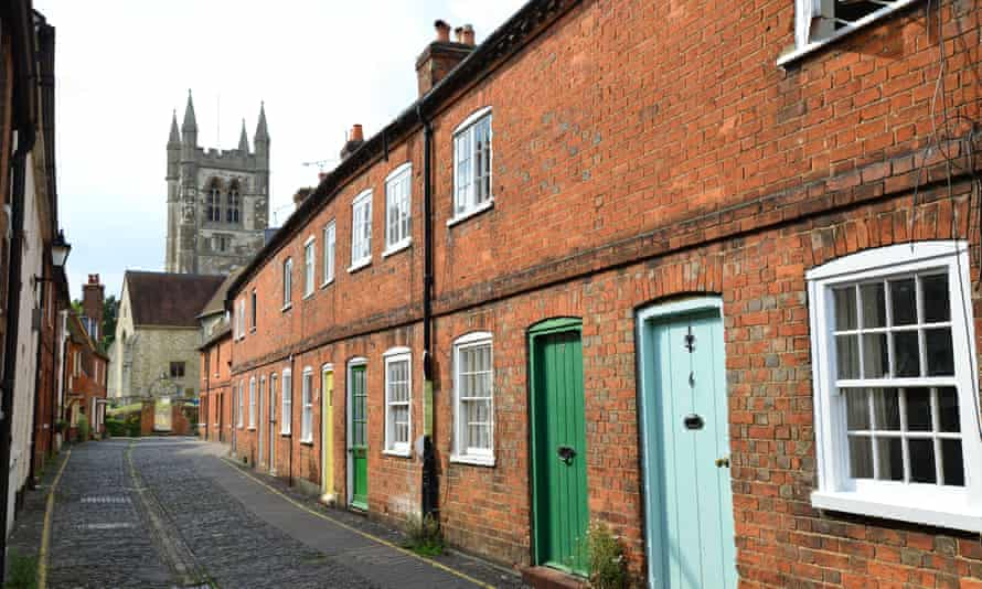 Parish church and cottages