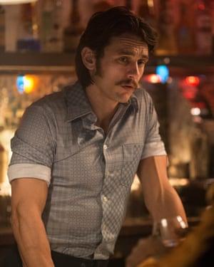 The more sensible Martino brother ... James Franco as Vincent.