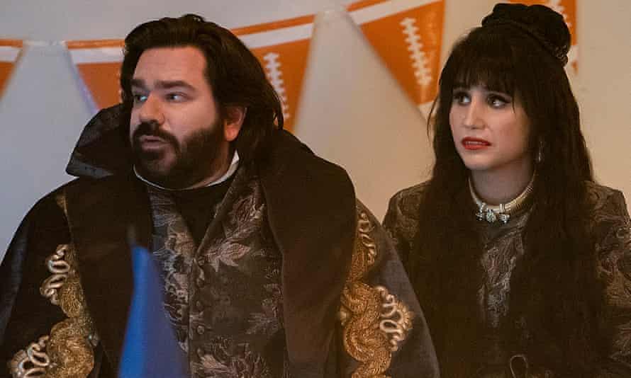 Matt Berry as Laszlo and Natasia Demetriou as Nadja.