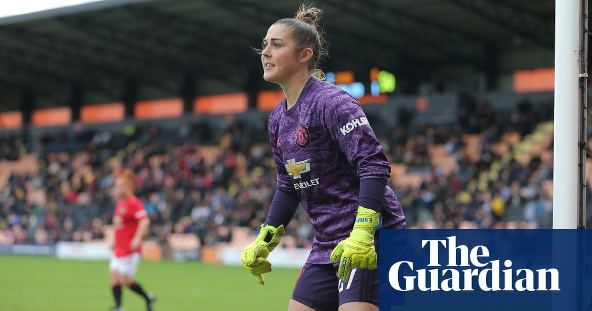 Mary Earps a big noise as Manchester United prepare for City showdown | Suzanne Wrack