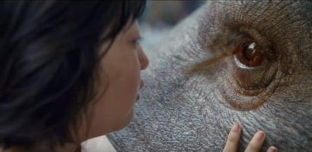Sweet-natured … Okja.