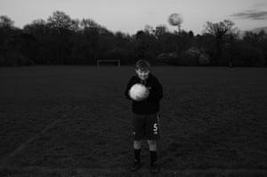 Heath Park Rangers u12's player Sam James