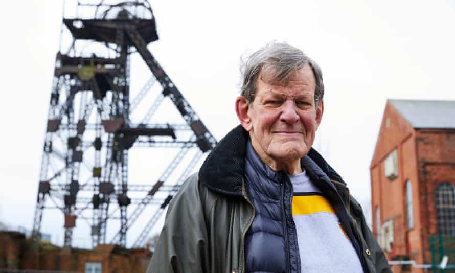 Trevor Barton at the Lancashire mining museum in Leigh, Greater Manchester, in March 2020.