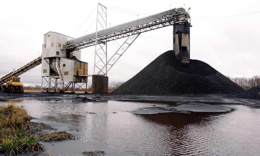 Peabody Energy's Gateway North mine near Coulterville, Illinois