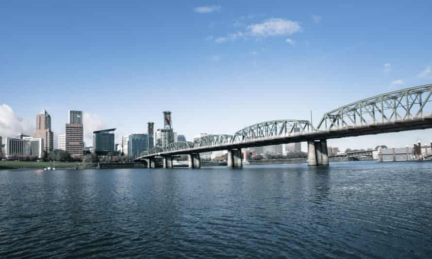 The skyline of Portland, Oregon. 'It is an amazing place if you're poly, oh my god,' says resident Franklin Veaux.
