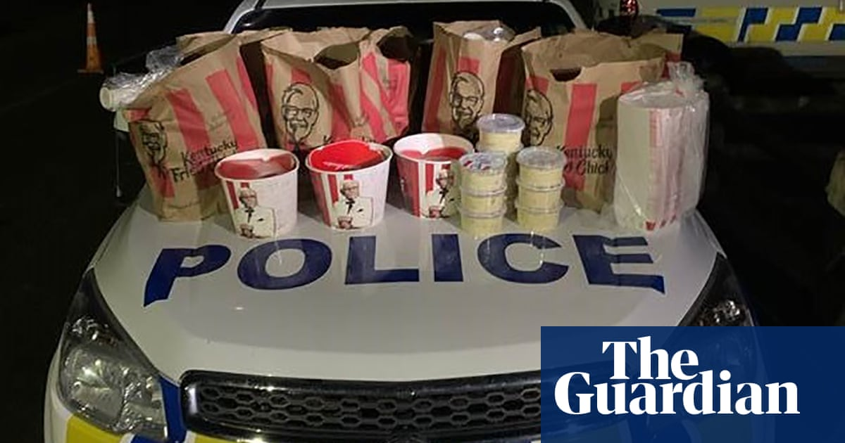 New Zealand police arrest pair trying to enter Auckland with 'large amount' of KFC