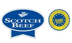 Scotch Beef PGI logo