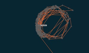 The Peak Pegasus cargo ship shown on the Thomson Reuters tracking plot.