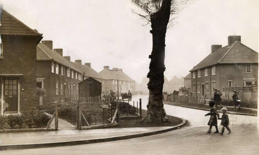 The Becontree Estate in the 1930s.