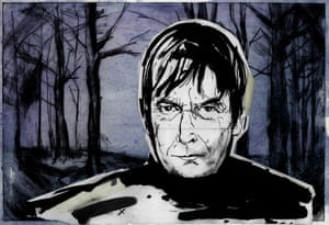 Illustration of Ian Rankin