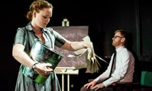 Hayley Doherty and Matthew Brown in A Fortunate Man.