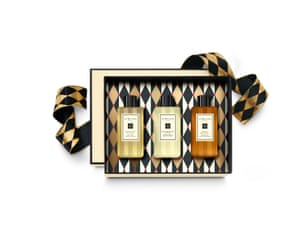 Christmas Bath Time Collection, £48 jomalonelondon.com