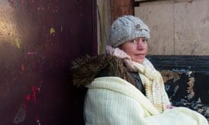 Mary, a rough sleeper in Bimingham