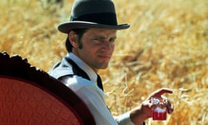 Sam Shepard as a dying farmer caught in a love triangle, in the film Days Of Heaven, directed by Terrence Malick, 1978.