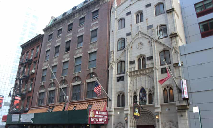 The only three remaining buildings from Little Syria are St George's Syrian Catholic Church, the Downtown Community House, and the tenement of 109 Washington Street.