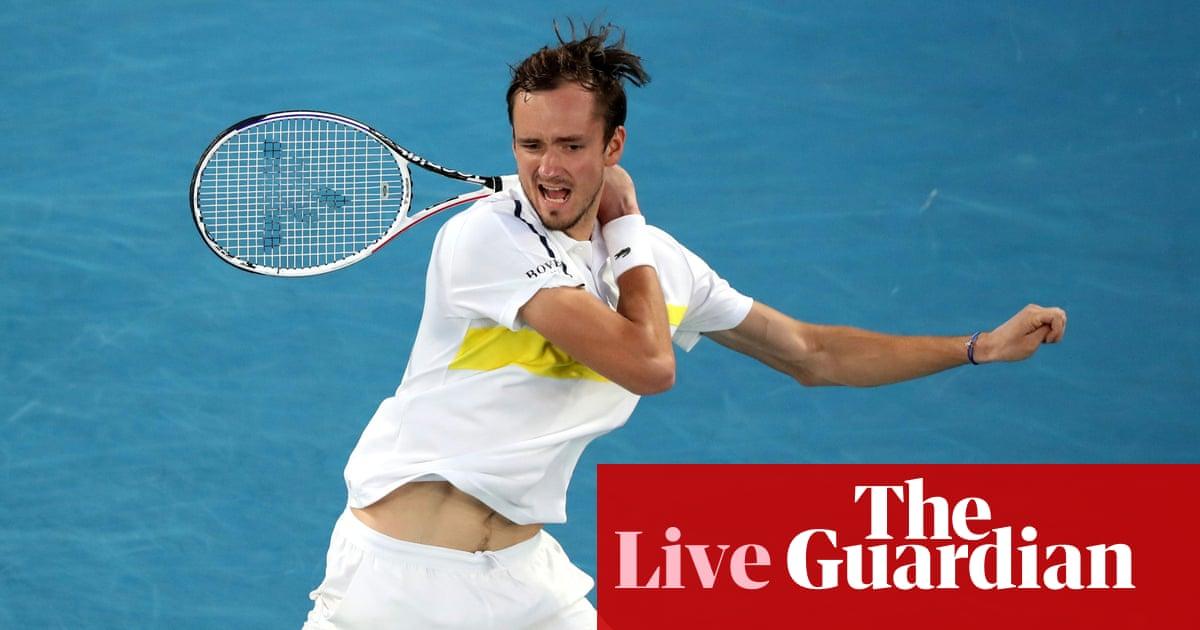 Daniil Medvedev v Stefanos Tsitsipas: Australian Open men's semi-final – live! – The Guardian