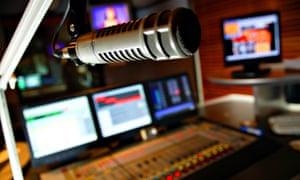 A generic radio studio