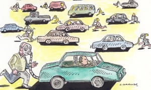 Cars don't just choke our children – they tear a hole in our