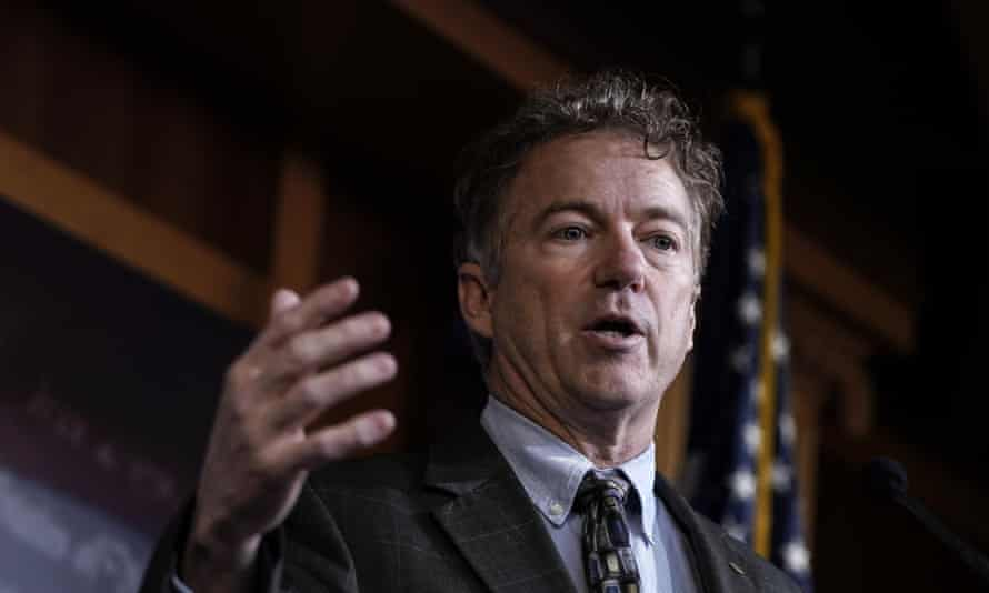 Senator Rand Paul of Kentucky tested positive for Covid-19.