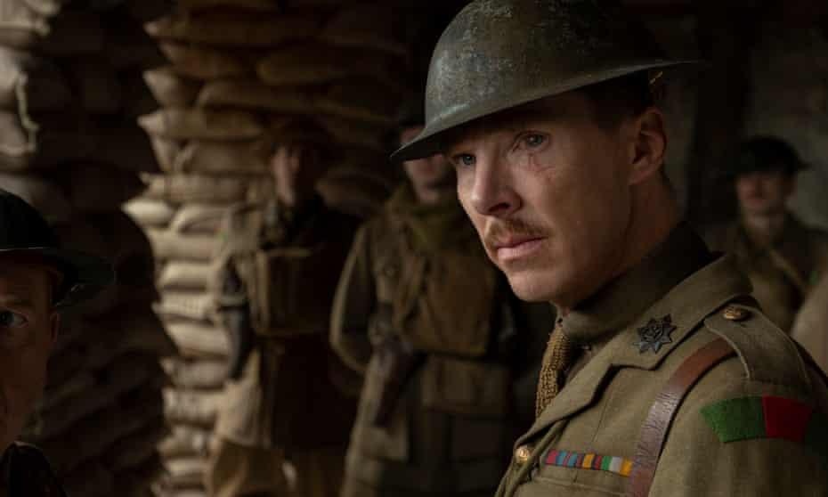 Benedict Cumberbatch in 1917.