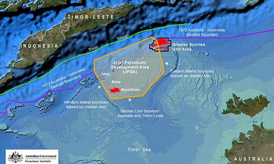 Despite the maritime border treaty Australia and Timor-Leste could not agree on how to develop the gasfield.