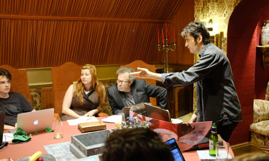 Gamers paid $4,000 for four days' D&D at Langley Castle in Northumberland.