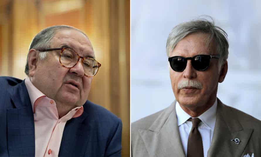 Alisher Usmanov and Stan Kroenke