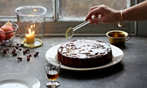 Claire Ptak's figgy mulled wine honey cake.