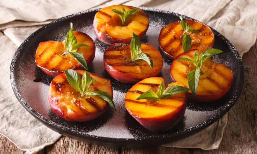 Concentrate that flavour ... grilled peaches.