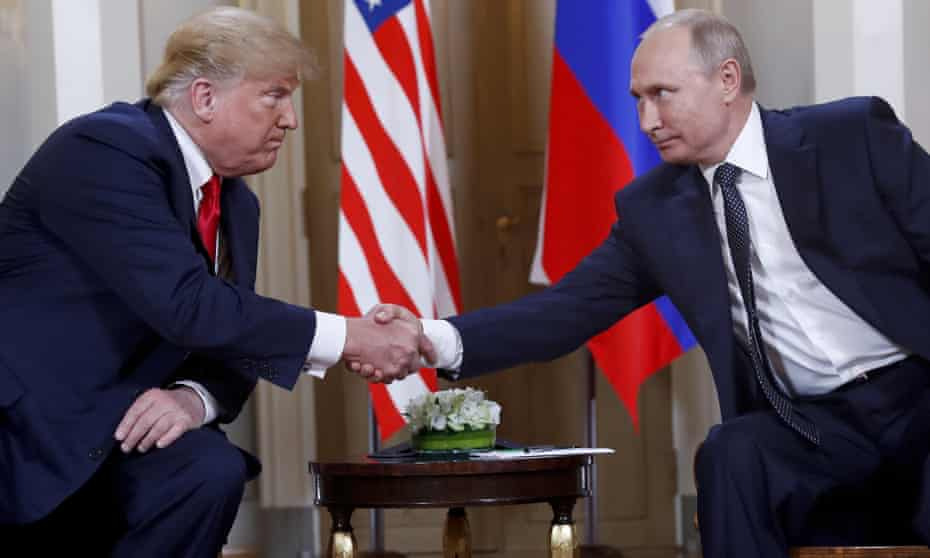 It has been reported that, despite having translators present, Donald Trump has taken unusual steps to keep notes on his meetings with Vladimir Putin private.