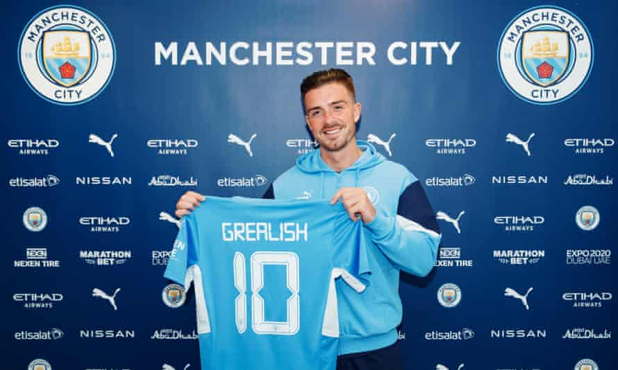 Jack Grealish has cost Manchester City £100m, a British-record signing.