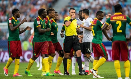 Confederations Cup: Germany reach semi-final after video replay confusion