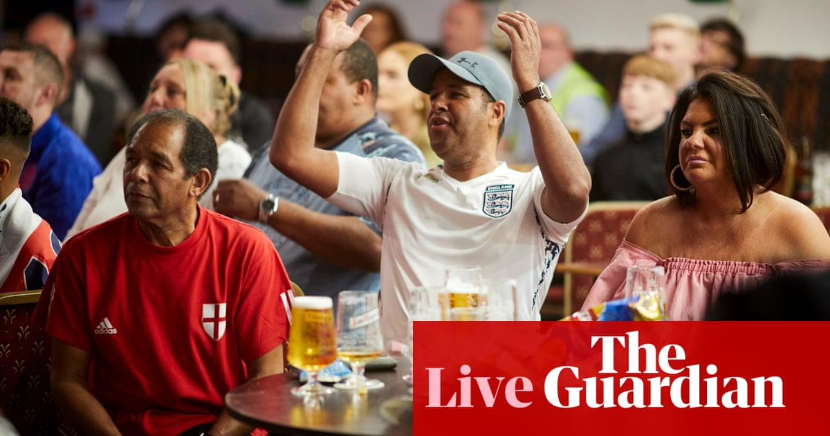UK retail sales rise in July, helped by Euro 2020 food and drink spending – business live