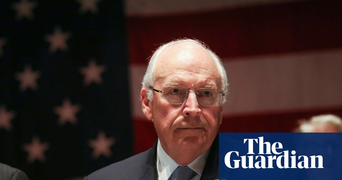 Dick Cheney is back but rehabilitation is not on Darth Vader's agenda