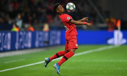 Wendell in action for Bayer Leverkusen in the Champions League earlier this season.