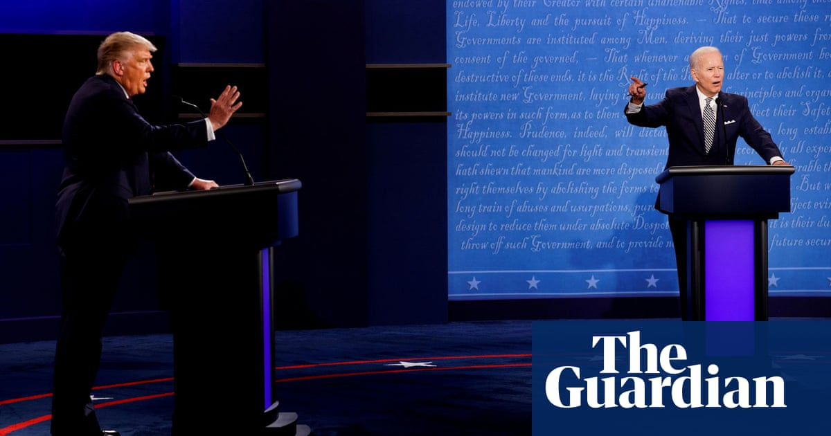 Presidential debate commission adopts rules to mute microphones – The Guardian