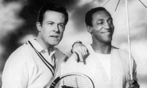 This undated file photo originally released by NBC shows Robert Culp, left, and Bill Cosby starring as a team of American agents in the 1960's television series, I Spy