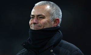 José Mourinho, showing off his new cropped hair cut, smiles as Manchester United reach the final of the EFL Cup despite losing 2-1 to Hull City in the semi-final second leg